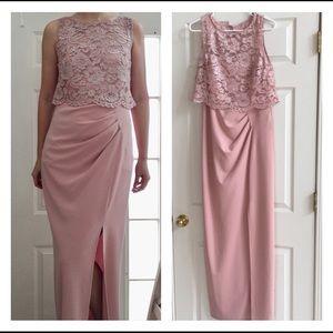 🎈Sale 20%Marina Baby Pink Bridesmaid Dress